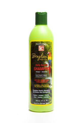 Fantasia Brazilian Hair Oil Daily Keratin Shampoo 355ml
