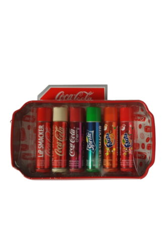Lip Smacker Coca Cola Tin Box - 6 Piece